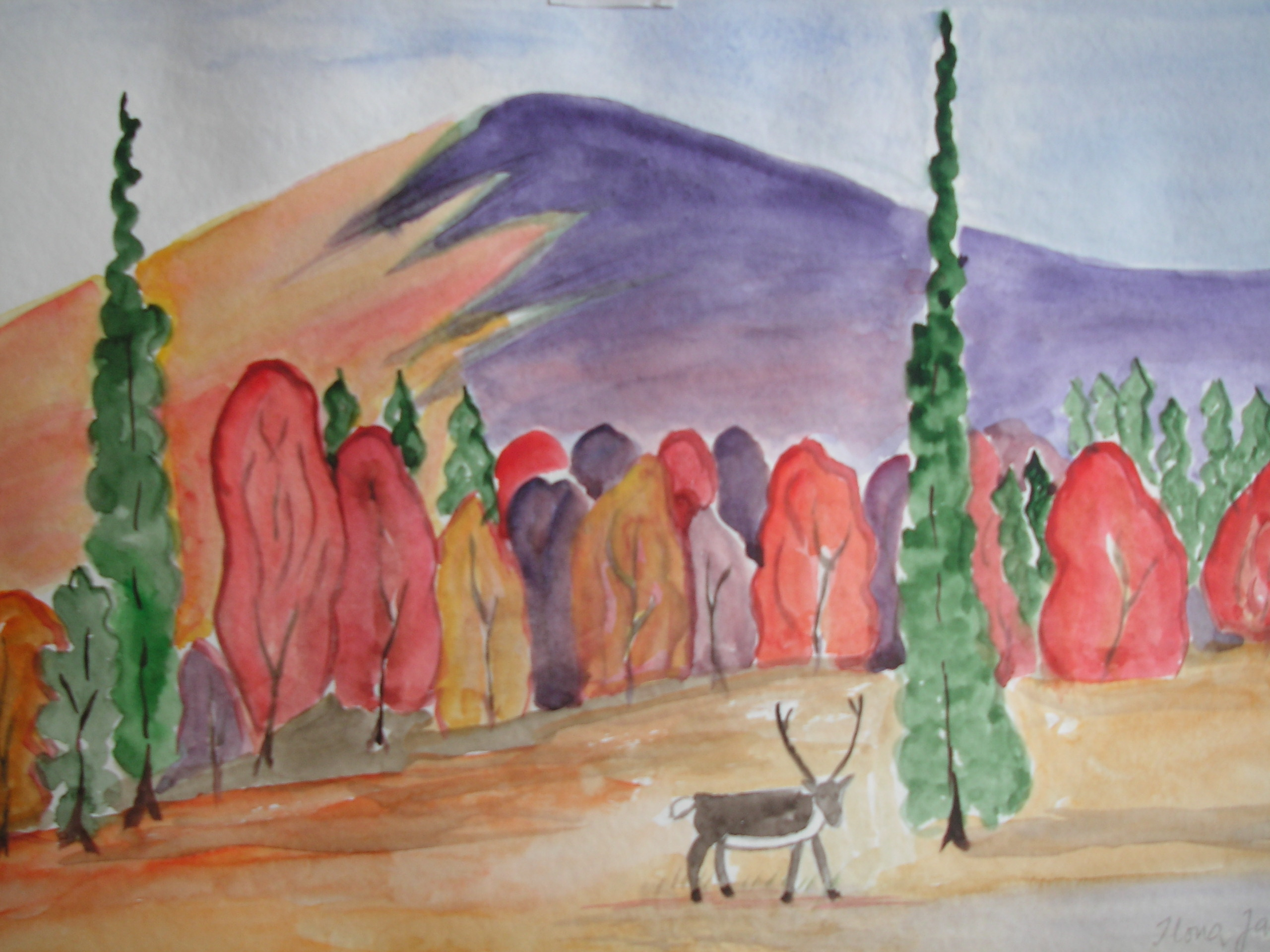 Akvarelli 124